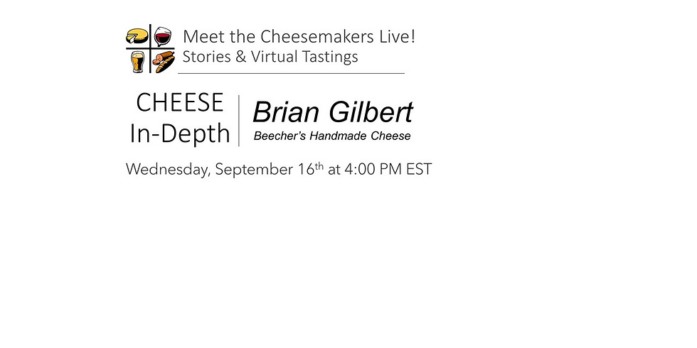 Brian Gilbert - Beecher's Handmade Cheese