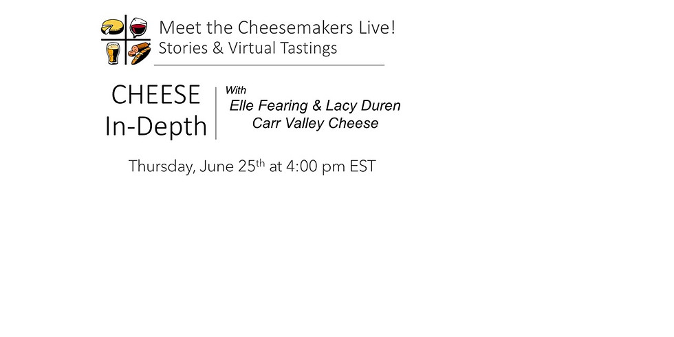 Elle Fearing & Lacy Duren Carr Valley Cheese