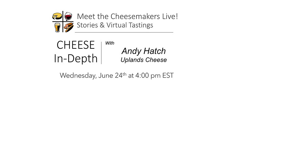 Andy Hatch Uplands Cheese