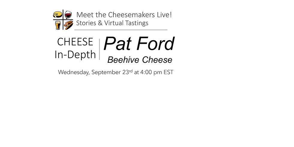 Pat Ford - Beehive Cheese