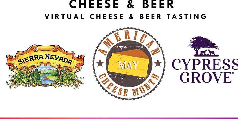 Cheese & Beer with Cypress Grove Chevre & Sierra Nevada Brewing Co