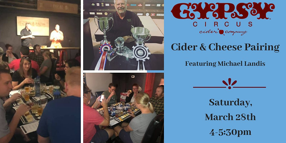 Gypsy Circus - Cheese, Charcuterie & Cider Pairing Event