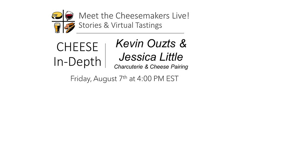 Kevin Ouzts & Jessica Little – Charcuterie & Cheese Pairing
