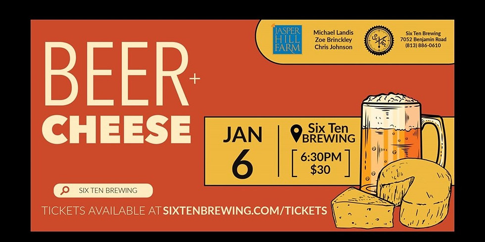 Vermont Cheese & Beer Pairing Event