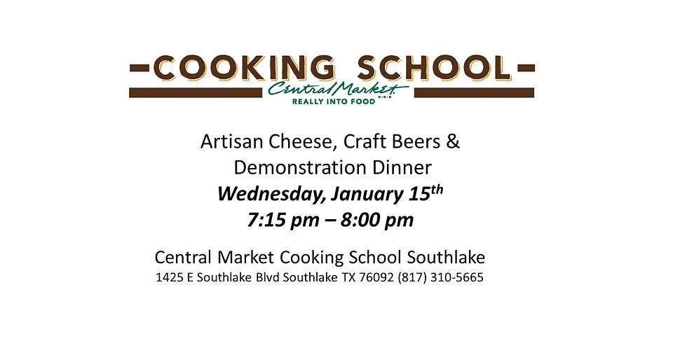 Central Market Southlake - Cheese + Beer = Dinner