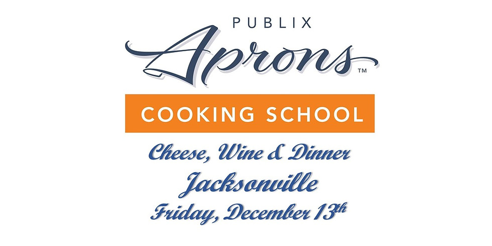 Publix Aprons Wine, Cheese & Dinner - Jacksonville