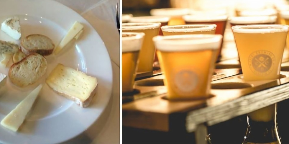 Cueni Brewing Co. Beer and Cheese Pairing