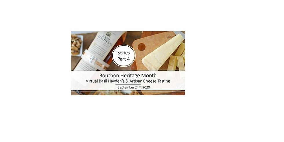 Part 4: Basil Hayden's Ten Year Bourbons & Rogue River Blue Pairing