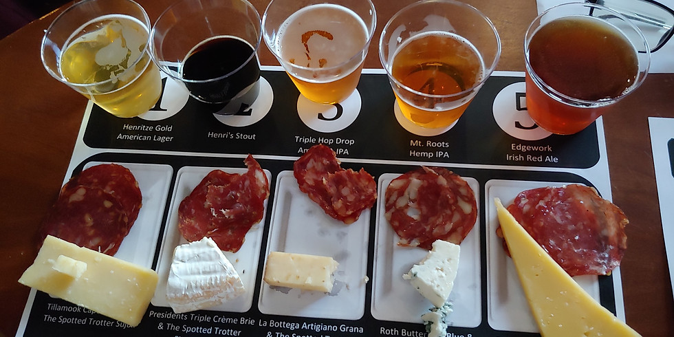 JRH Brewing - Beer, Cheese, And Charcuterie Pairing