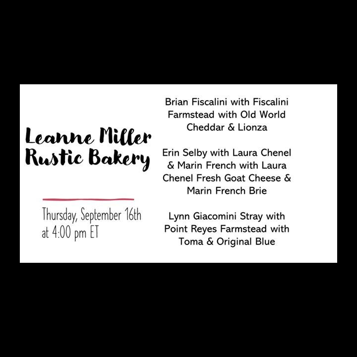 Leanne Miller – Rustic Bakery & Cheese Pairings
