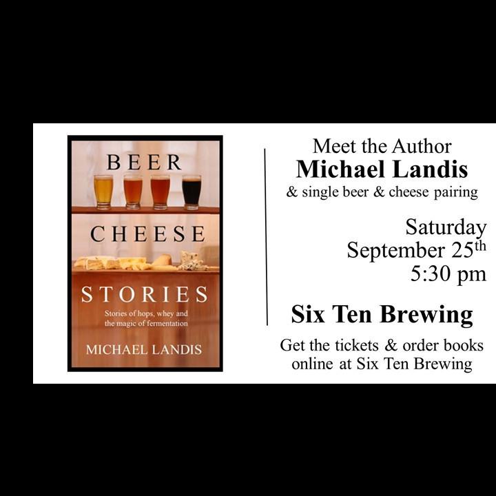 Six Ten Brewing - Book Signing, Beer & Cheese Pairing
