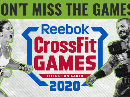 It's the 2020 CrossFit Games, but that's not us.