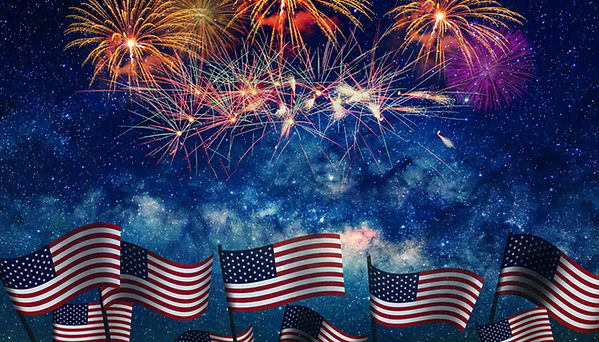 July-4th-celebration-with-fireworks-and-