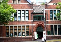 Street view of St Peter's Bookroom