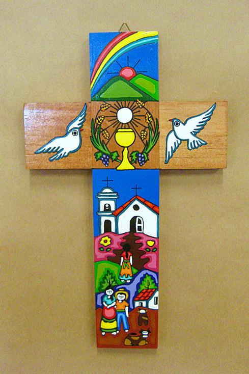 El Salvador - Communion Cross