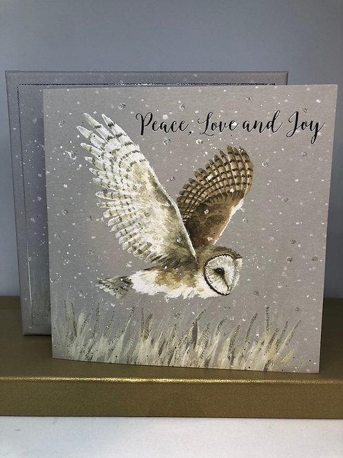 Peace, Love and Joy Luxury Cards