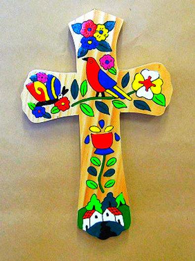 El Salvador - Bird and Flower Cross