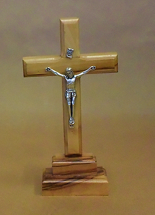 Latin Crucifix on Stand