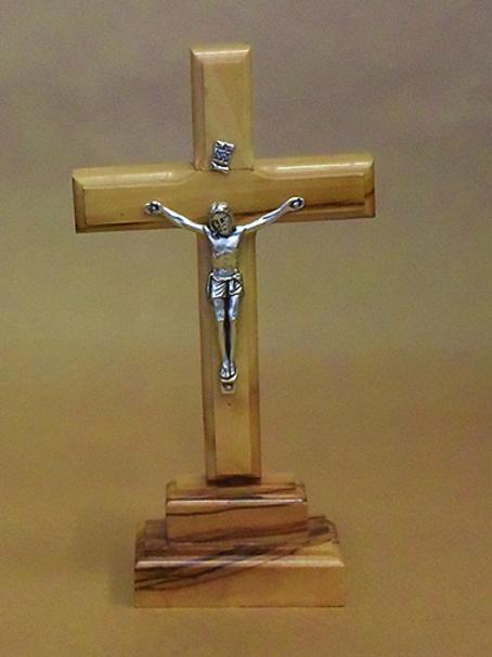Latin Crucifix on Stand