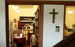 Inside view of St Peter's Bookroom