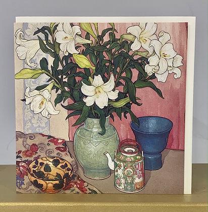 White Lilies (detail) 1955