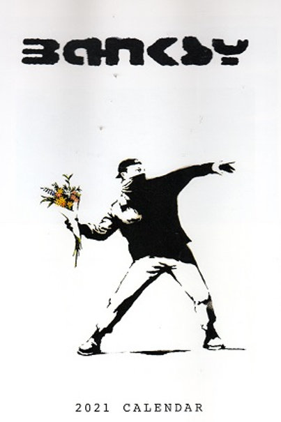Banksy 2021 Wall Calendar