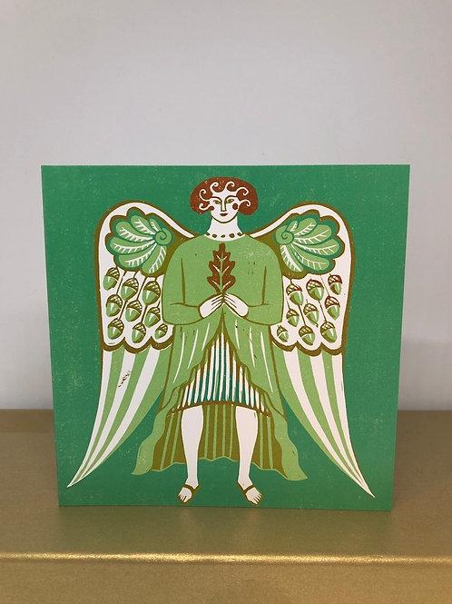 Oak Angel (5 Christmas Cards)