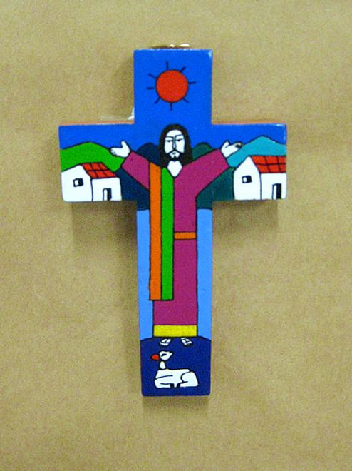 El Salvador - Jesus Preaching Cross