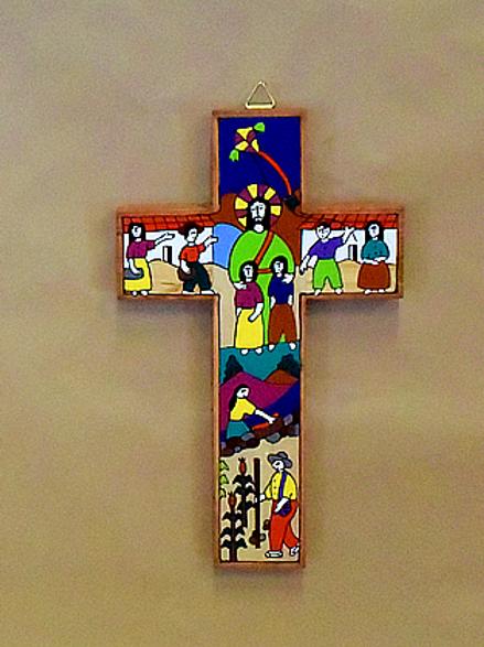 El Salvador - Jesus with Children Cross