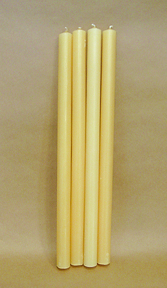 7/8 inch (22 mm) diameter candles
