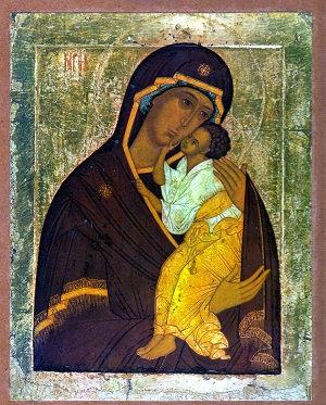 Virgin of Tenderness of Jaroslavl (Large)