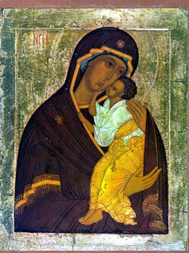 Virgin of Tenderness of Jaroslavl (Large)