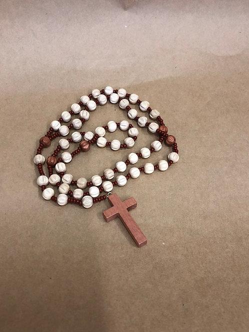 Rosary Beads Wood