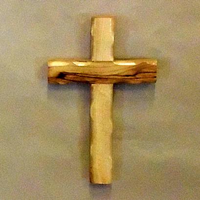 Scolloped Edge Cross