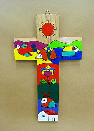 El Salvador - Landscape Cross