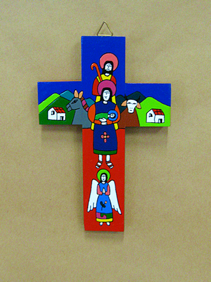 El Salvador - Holy Family Cross