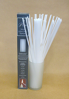 White tapers