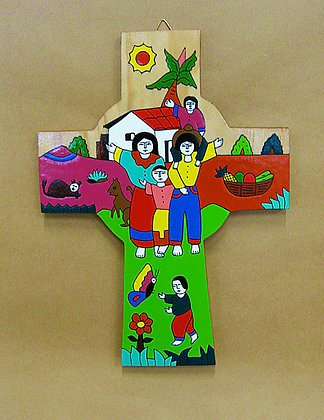 El Salvador - Cross with Family