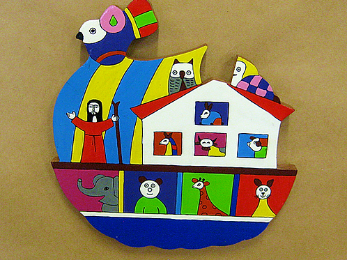 El Salvador - Noah's Ark Plaque