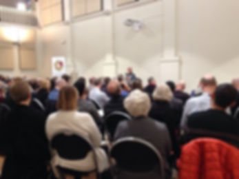 Serene Jones talking at a conference