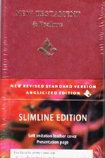 NRSV New Testament and Psalms: Slimline Edition