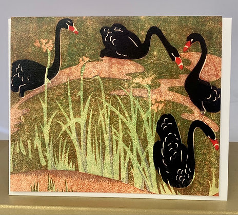 Black Swans c 1937