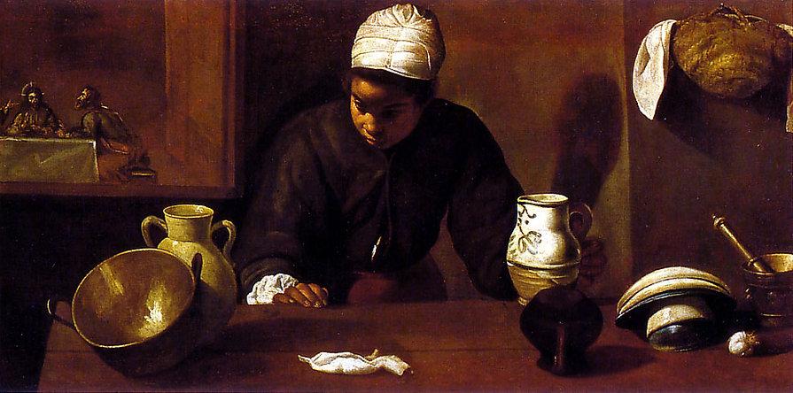 La mulata by Diego Velázquez