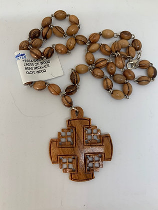 Olive Wood from Bethlehem Rosary
