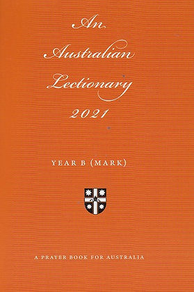 An Australian Lectionary 2021 Year B