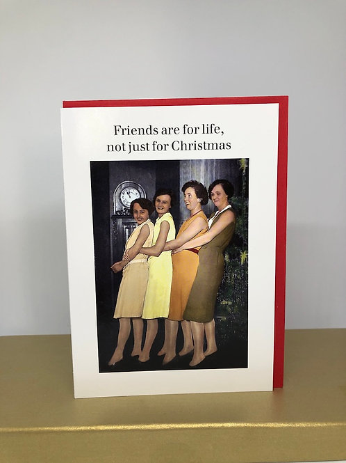 Friends are for life, not just for Christmas NEW!