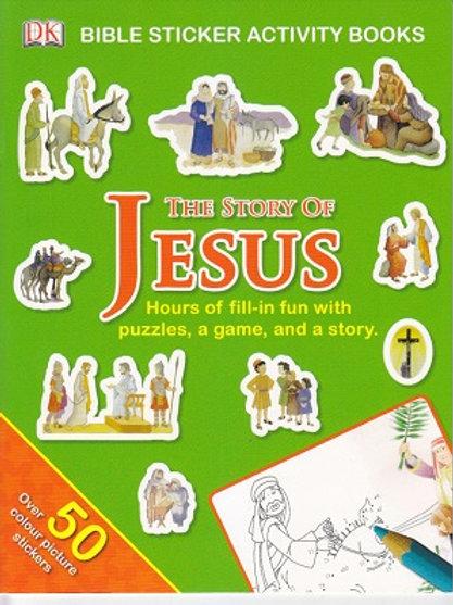 Story of Jesus Sticker Book