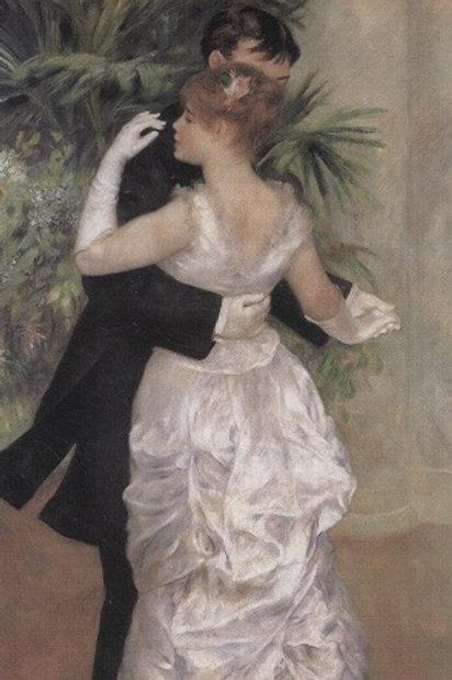 Danse à la ville, Dance in the City, 1883