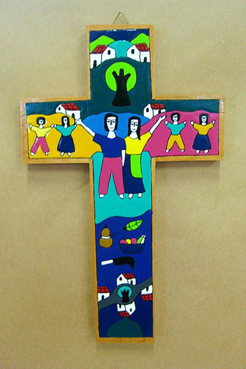 El Salvador - Marriage and Family Cross