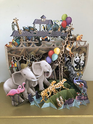 Noah's Ark - Pop Up Art